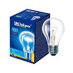 Лампа накаливания Искра Б 100W E27 прозрачная - фото