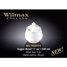 Сахарница Wilmax 995019 340 мл - фото