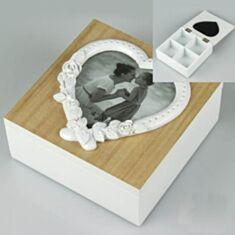 Скринька дерев'яна 050TP 15*15*6см - фото