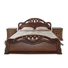 Ліжко Вікторія 180*200 колір 114+патина