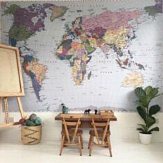 Фотошпалери Komar Карта світу 4-050