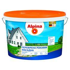 Фасадна фарба Alpina Перевірена роками 10 л білий