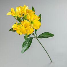 Штучна квітка Альстромерія 097F/yellow 65 см