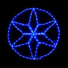 Гірлянда Delux Motif Star 60*60 cм 13 flash синій - фото