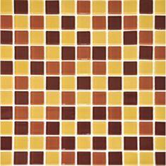 Мозаика Vivacer Mix C06 2,5*2,5 см 30*30 коричневый