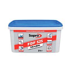 Гідроізоляційна мастика Soprо FDF 525 3 кг - фото
