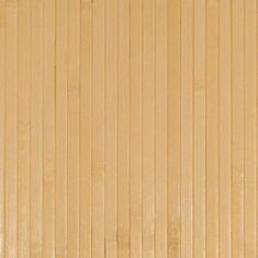 Бамбукові шпалери світлі 0,9м 12мм 12511