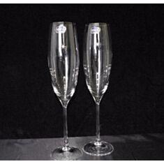 Бокали для шампанського Bohemia Grandioso 40783-m8458 230мл