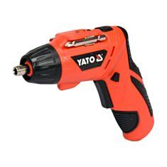 Викрутка акумуляторна YATO YT-82760 - фото