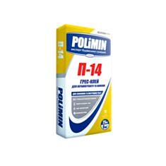 Клей для плитки Полимин П-14 универсальный 25 кг - фото