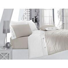 Комплект постельного белья Cotton Box Fashion Ranforce Gri 2,0