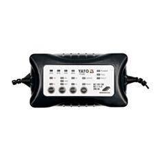 Зарядний прилад Yato YT-8300 6/12 В 1-4 А  - фото