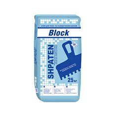 Клей для пено- газоблоков Shpaten Blok 25 кг - фото