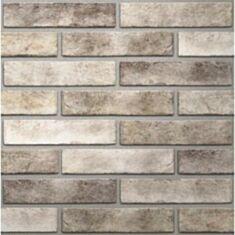 Клінкерна плитка Golden Tile Brickstyle Seven Tones 343020 25*6*1 табачний - фото