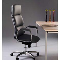 Крісло для керівників CALIFORNIA steel chrome ECO-30