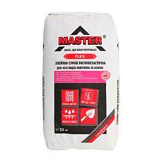 Клей для плитки Master Flex 25 кг - фото