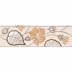 Фриз Golden Tile Karat Е91311 6*20 бежевый