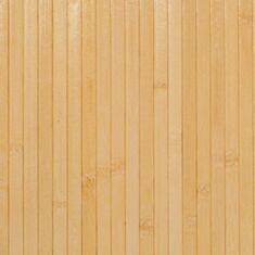 Бамбукові шпалери світлі 0,9м 17мм 12510