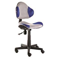 Кресло Q-G2 (серо-синее) - фото