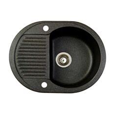 Кухонна мийка Marmorin Duro 130133002 Black - фото