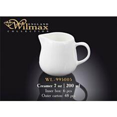 Молочник Wilmax 995005 200 мл - фото