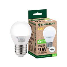 Лампа світлодіодна Enerlight G45 9W E27 4100K - фото