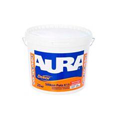 Декоративна штукатурка Aura Dekor Silikon Putz К15 Баранець 1,5 мм 25 кг - фото