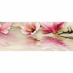 Панно Beryoza Ceramica Мираж 4 20*50 серо розовый - фото