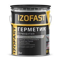 Мастика гермабутил Izofast 3 кг - фото