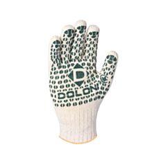 Рукавиці робочі Doloni 547 з ПВХ покриттям білі - фото