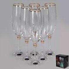Келихи для шампанського Bohemia Olivia b40346-m8474 190мл 6шт