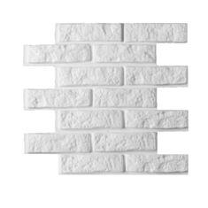 Декоративні гіпсові 3D панелі Камінь/Цегла 50*50*2,8 см - фото