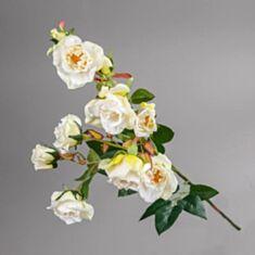 Штучна квітка Камелія 025F/white 75 см