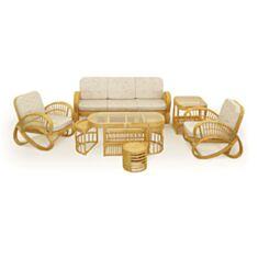 Комплект садовой мебели для отдыха 0106 Calamus Rotan - фото