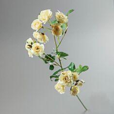 Штучна квітка Камелія 087F/white 75 см