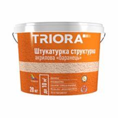 Штукатурка структурна акрилова Triora баранек 20 кг