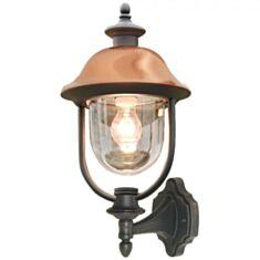 Светильник парковый Lusterlicht QMT 1036 Verona II 100W черный прозрачный