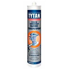Герметик термостойкий силиконовый Tytan красный 310 мл - фото