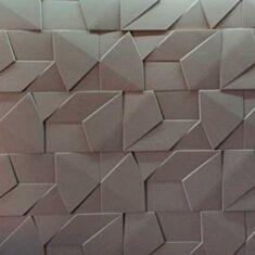 Декоративні гіпсові 3D панелі Скала велика 40*80*2,8 см - фото
