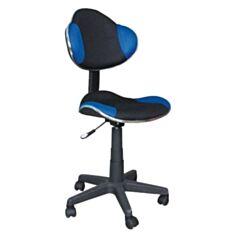 Крісло Q-G2 (синьо-чорне)