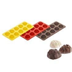 Форма для шоколаду Великодні яйця Tescoma Top Silicone 629374 - фото