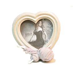 Фоторамка серце Клубок 103747 - фото