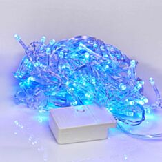 Гірлянда Delux Icicle С 100LED 3,2*0,7 м синій - фото