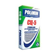 Стяжка для підлоги Полімін СЦ-5 25 кг - фото