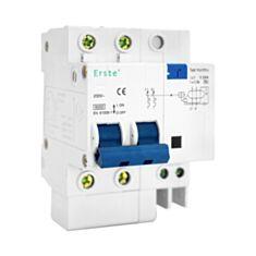 Дифференциальный автомат Erste EB1L-N 6 кА 2P 20 A - фото