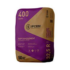 Цемент IFCEM ПЦ ІІ/Б-К-400Н 50 кг - фото