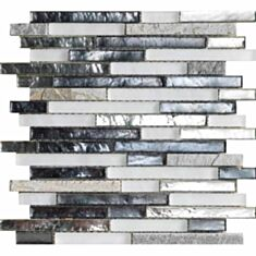 Мозаїка L'Antic Colonial Treasures Mist Shannan strip L244000911 29,2*30,4 см срібно-сіра - фото