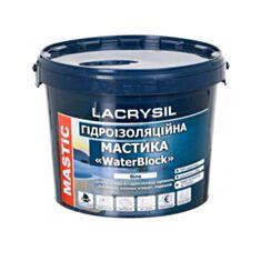 Гідроізоляційна мастика Lacrysil акрилова супереластична 6 кг - фото
