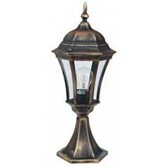 Светильник парковый Lusterlicht QMT 1314 Dallas I 100W стекло старое золото