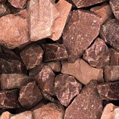 Камни для бань и саун Малиновый кварцит 20 кг - фото